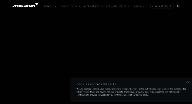 access configurator.mclaren. mclaren automotive - official site