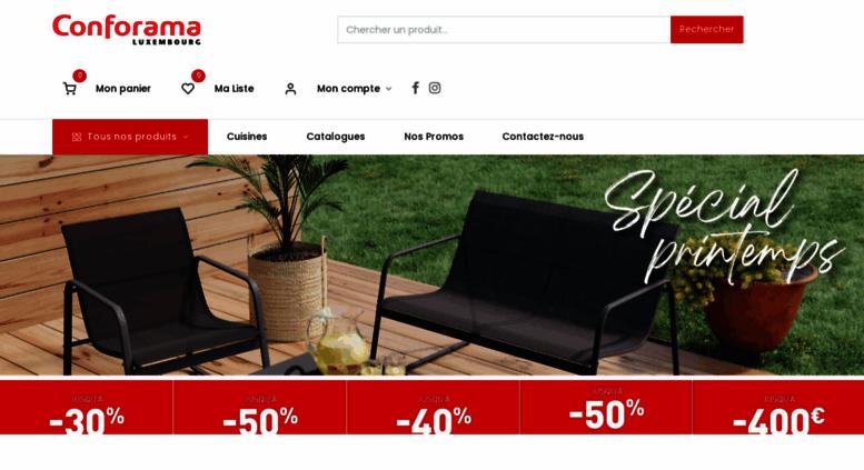 Access Conforama Lu Conforama Luxembourg Votre Magasin De