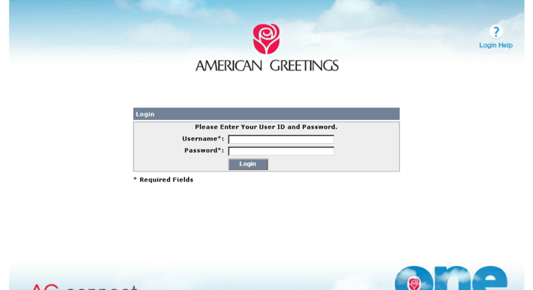 Access Connectgreetings American Greetings Single Sign On