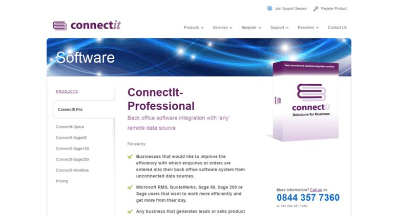 Access connectit-webcart co uk  ConnectIt-Professional