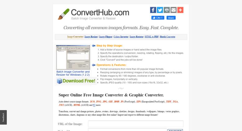 Access converthub com  Convert Hub - Online Image Converter Converts