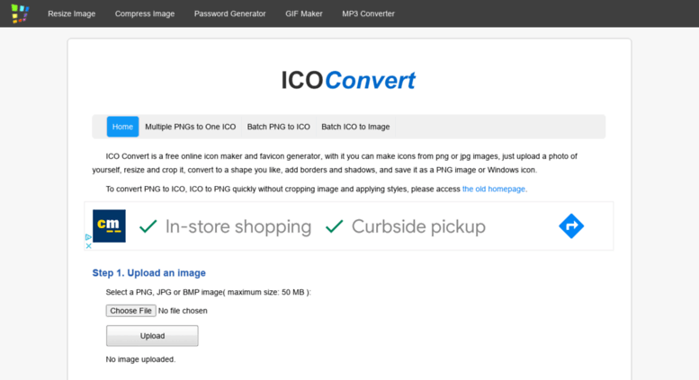 Access convertico org  ICO Convert - Create Icons From PNG & JPG