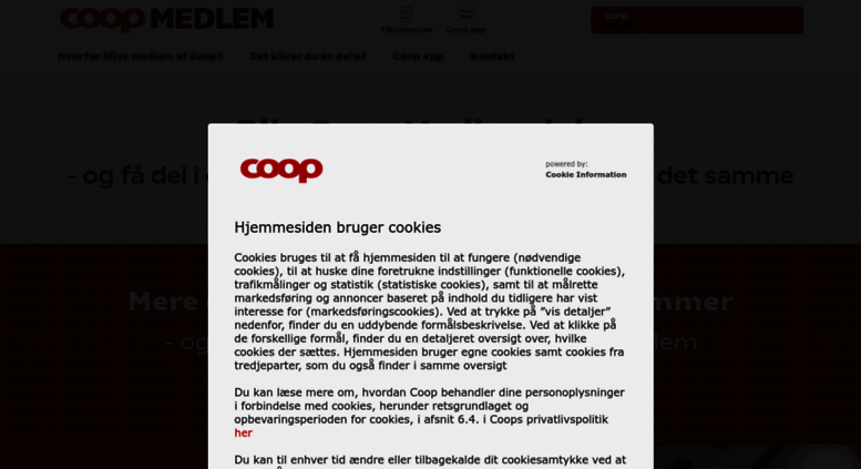 74a3d6d8ef3f2f Access coopplus.coop.dk. Dit Coop - Coop-kortet