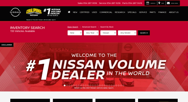 Coral Springs Nissan >> Access Coralspringsnissan Com Nissan Dealer Near Fort