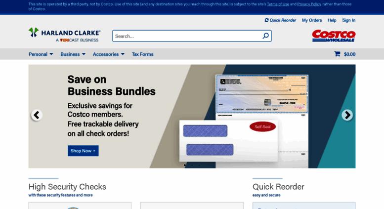 Costcochecks Screenshot