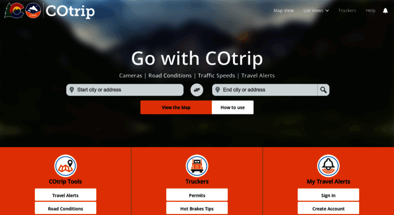 Access cotrip org  Road Conditions, Speeds, Travel Times
