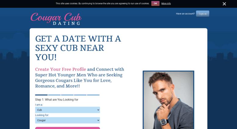 Cougar Cubs dating site määritellä ehdot suhteellinen dating ja ehdoton dating ja selittää ero kahden