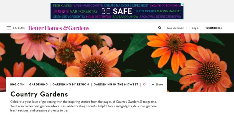 Access Countrygardens Com Country Gardens Better Homes