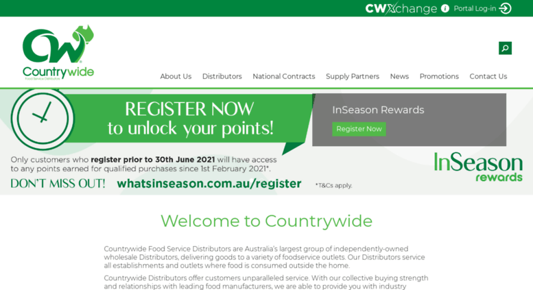 Access countrywide net au  Countrywide Food Service Distributors