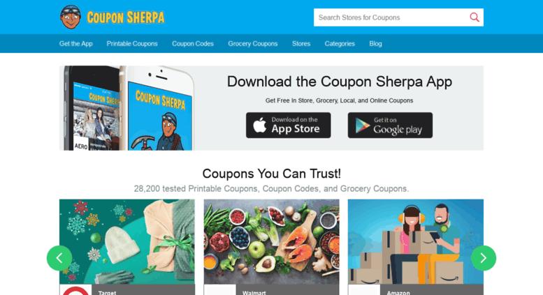 Access couponsherpa com  Coupon Sherpa - Coupons, Promo Codes