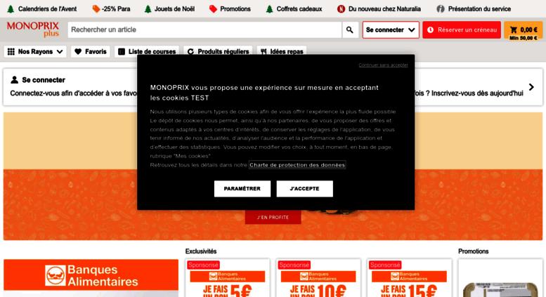 125455aa0 Access courses.monoprix.fr. Monoprix.fr : Courses et Shopping en ...