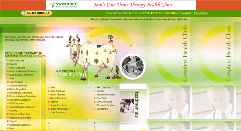 Cow Urine Therapy - All About Cow Photos
