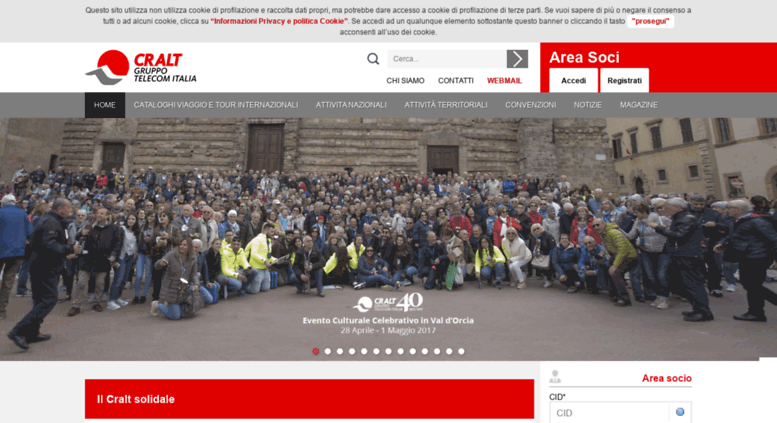 Access cralteventi.it. CRAL | CRAL TELECOM