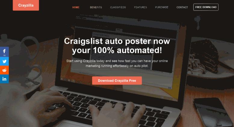 Access crayzilla com  Craigslist Auto Poster - Automatic CL ad