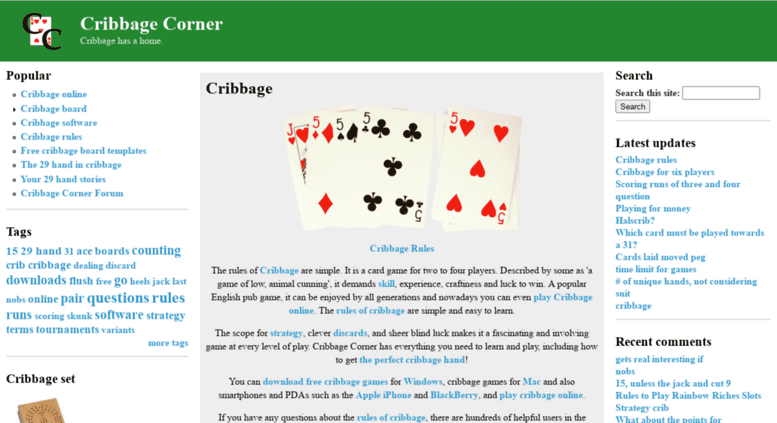 Cribbage 29 Hand Images