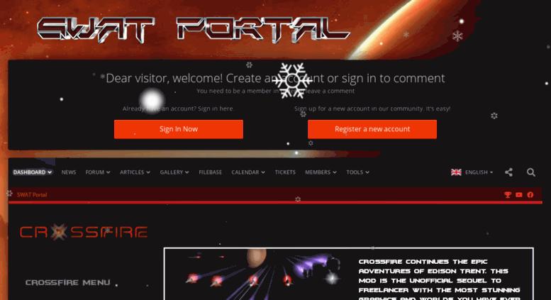 Crossfire swat freelancer игра от создателя freelancer