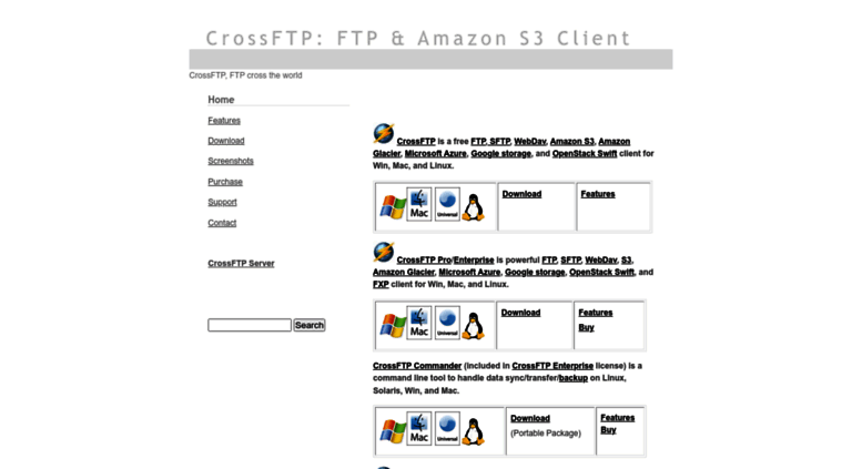 Access crossftp com  CrossFTP - FTP and Amazon S3 Client