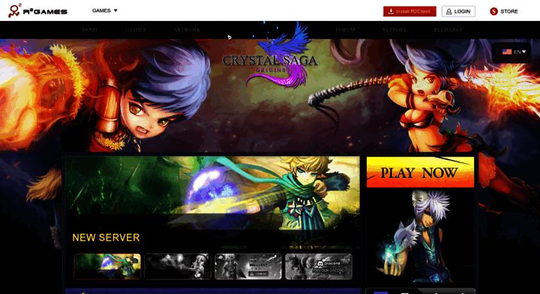 Access cs r2games com  Crystal Saga Official Site – 2018 Best