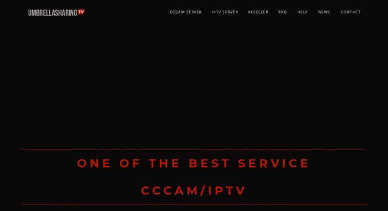 Access cs umbrellasharing tv  CCcam IPTV server   Fast IPTV cccam