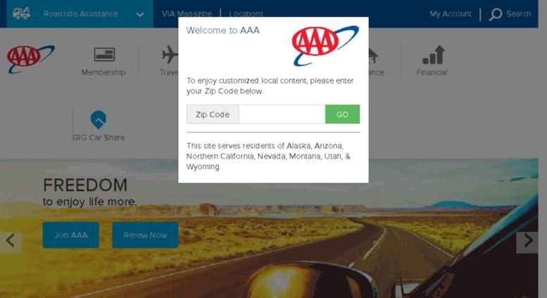 Aaa Com Myaccount >> Access Csaa Com Aaa Com Exclusive Aaa Member Benefits