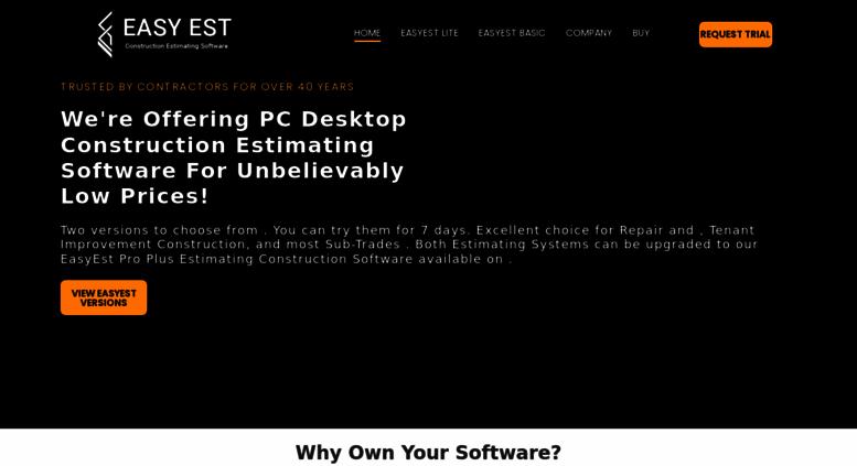 Access cscsoftware com  Construction Estimating Software
