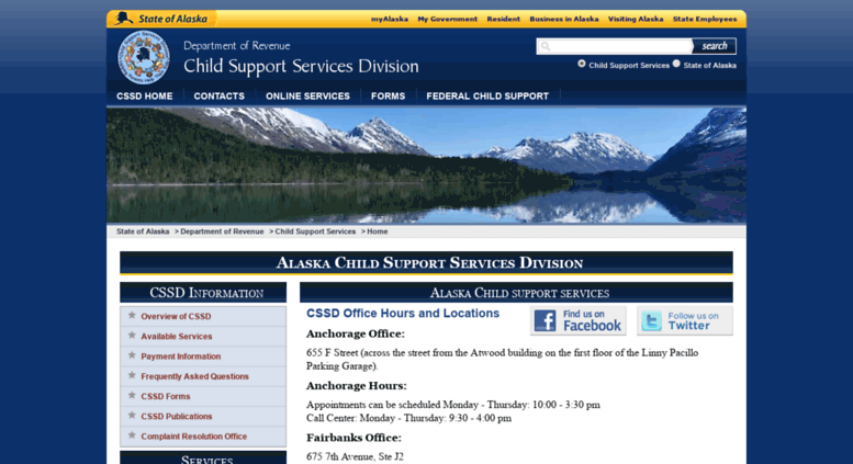 Access csed state ak us  Alaska Child Support Services Division