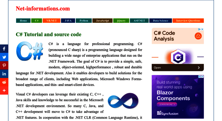 Access csharp net-informations com  C# Tutorial , C# Help