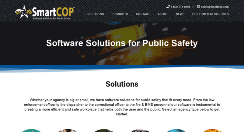Access cts-america com  SmartCOP - Public Safety Software