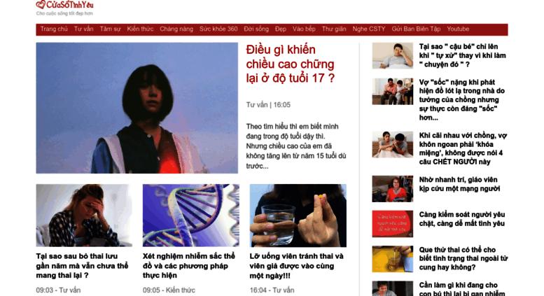 Image result for cuasotinhyeu.vn