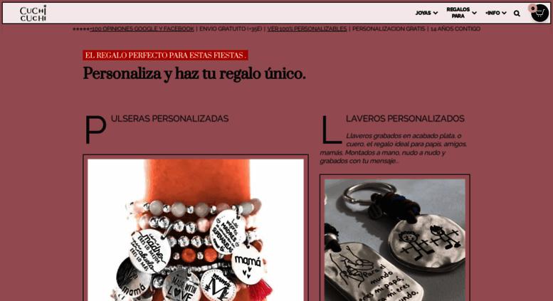 17d3844d7051 Access cuchicuchi.es. Regalos personalizados