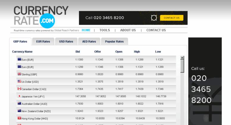 Currencyrate Screenshot