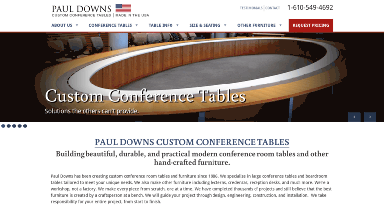 Access Custom Conference Tables