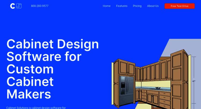 Access customcabinetsoftware com  Cabinet Design Software