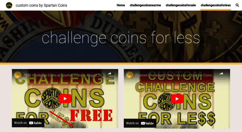 Access customchallenge-coins com  Custom Coins, Custom Challenge