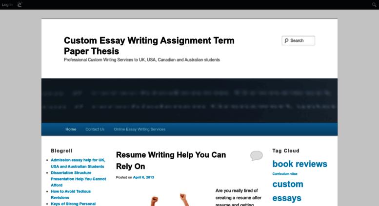 Assignment custom writing