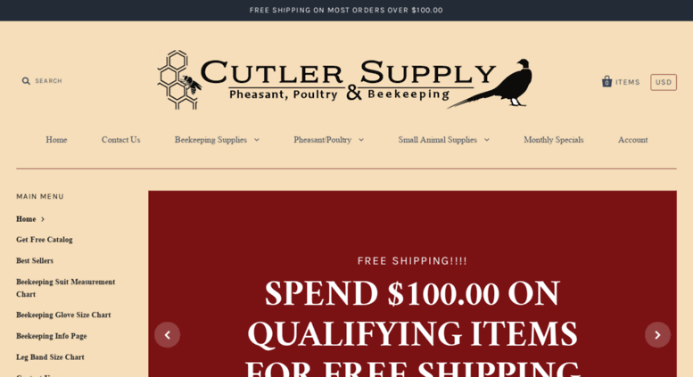 Access cutlersupply com  Poultry, Gamebird and Beekeeping Service