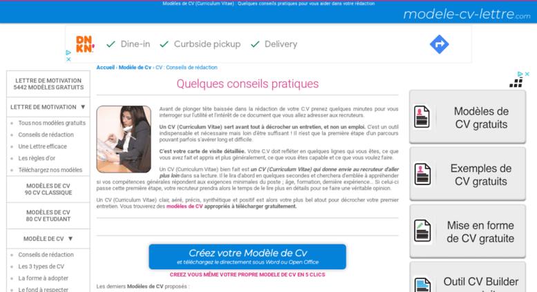 Access Cvmodele Cv Lettrecom Cv Quelques Conseils De