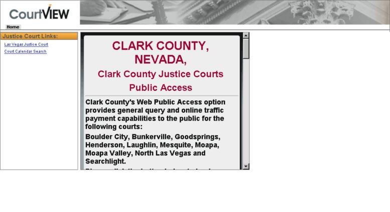 Access cvpublicaccess co clark nv us  Clark County Justice