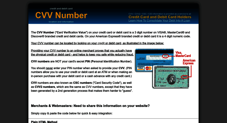 Access cvvnumber com  What is a CVV Number and How Do I Find It?