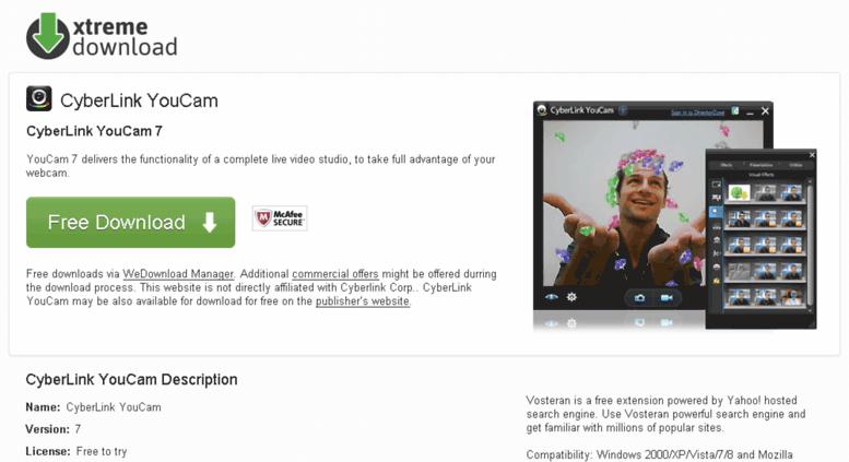 Download cyberlink youcam 7 | CyberLink YouCam 5 Free