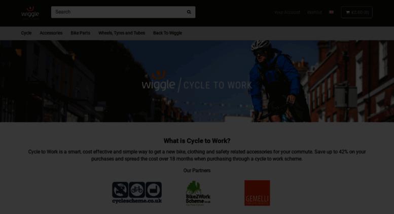 926c3e1d7 Access cycletowork.wiggle.co.uk. Wiggle Cycle To Work | Cycle | Run ...
