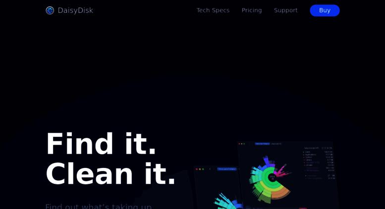 Access daisydiskapp com  DaisyDisk - Analyze disk usage and free up