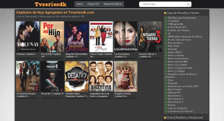 Access Darkiller Com Ver Telenovelas Y Series Online Gratis Tvseriesdk Com