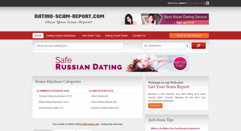 Anti scam russian dating