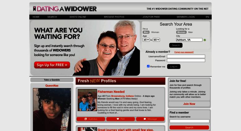 net widower dating site