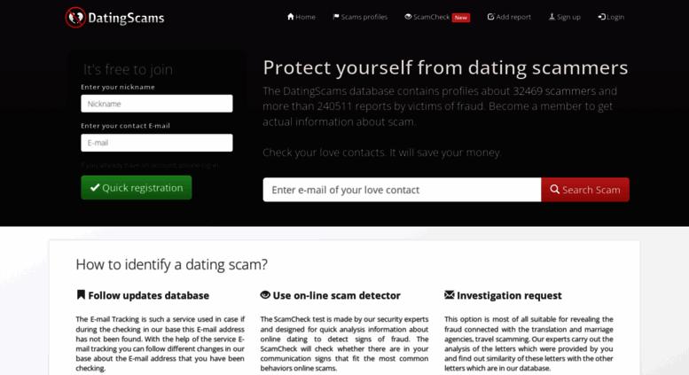 Dating database