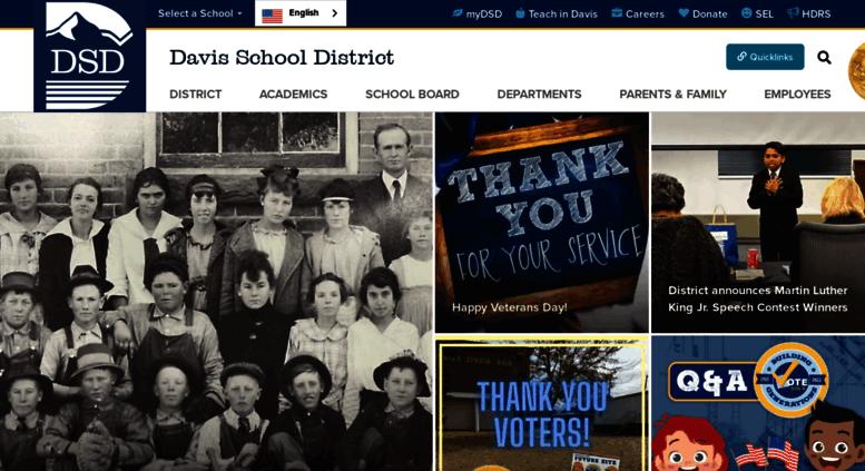 Access Davisk12utus Home Davis School District