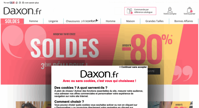 Access Daxon Fr Mode Femme Homme Grande Taille