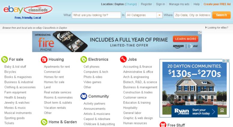 Access dayton kijiji com  Dayton Classifieds - Free Classifieds Ads