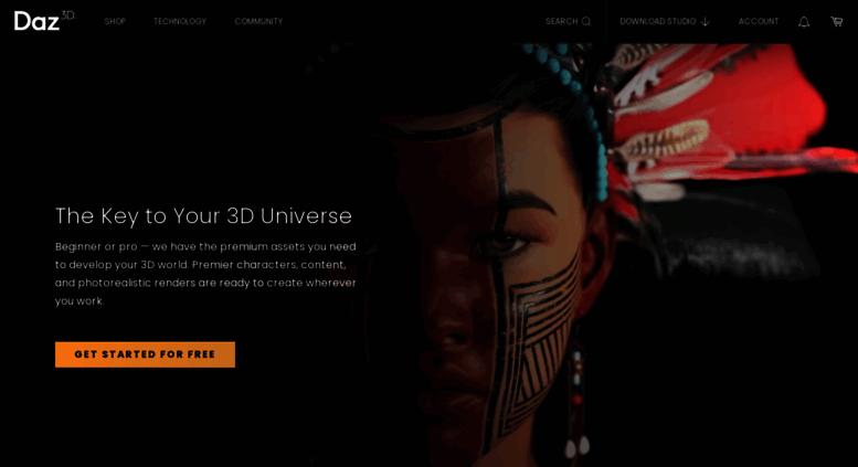 Access daz3d com  DAZ 3D | 3D Models and 3D Software by Daz 3D